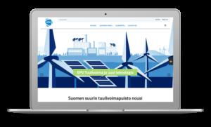 Verkkovuosikertomus, EPV Energia