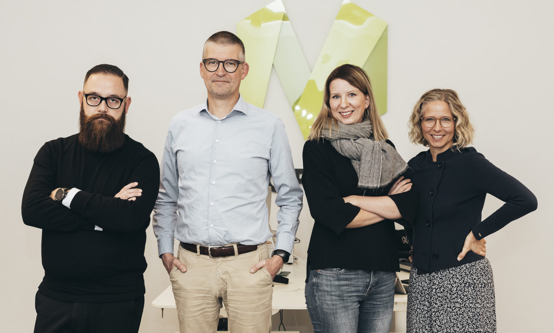 Aki Karlsson, Lars Rosenblad, Anni Kiviniemi, Anna Söderlund